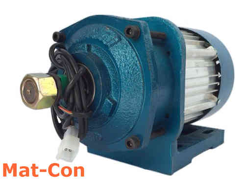 Planetary gearing electric motor BLDC 48V 3KW 120Nm