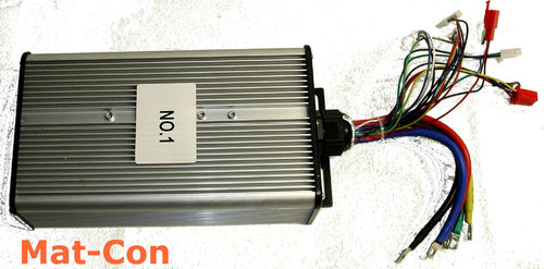 Electric motor controller BLDC 48-120V 120A with regeneration