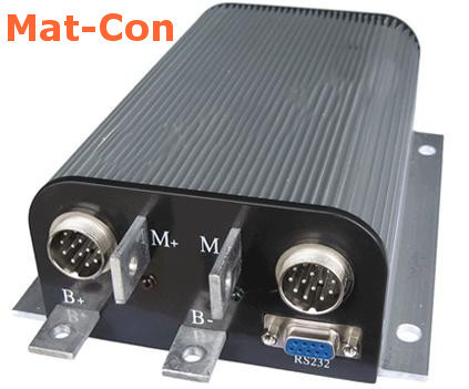 Full bridge 4Q controller for brush e-motors 12-120V, 100-500A, max. 36Kw, recuperation,programmable