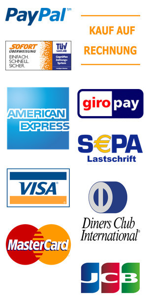 Our available payment methods