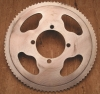 "sprocket, chainring, with pitch 1/4"" = 6,35mm, 80 teeth"