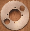 "sprocket, chainring, with pitch 1/4"" = 6,35mm, 65 teeth"