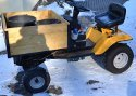 Carrier on riding mower - basis, 500W motorisation
